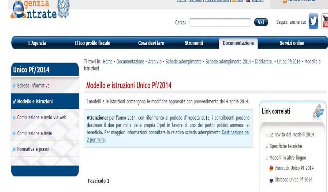 Fisco: anche per Il modello unico bonus mobili per ristrutturazione