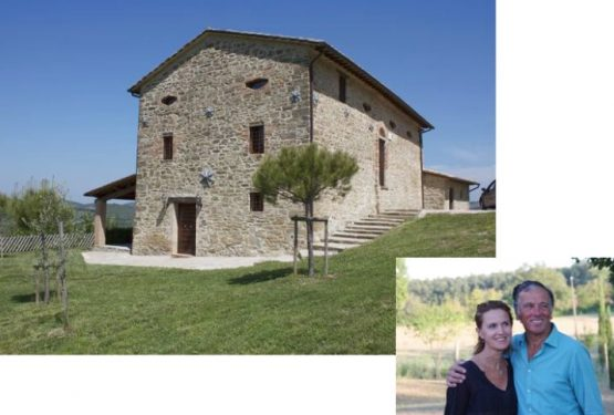 Interview with the owner of Fontefaggio farmhouse in Umbria