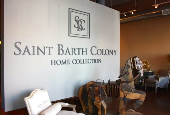 Saint Barth Colony flies into new showroom in the city of angels