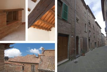 Great Estate sells a lovely renovated apartment in a historic centre in Umbria