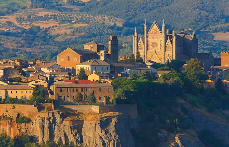 The real estate market in Orvieto.Growth in the demand for apartments and farmhouses