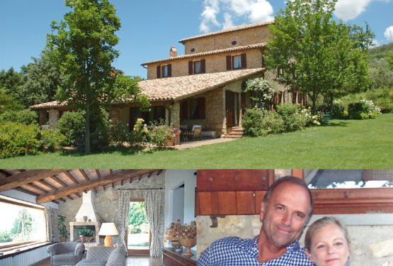Interview with Claude Hildebrand.How to buy a beautiful farmhouse in Umbria