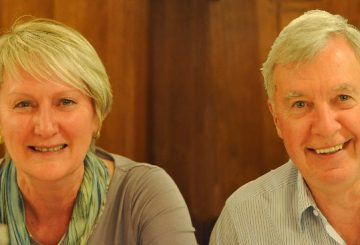 Interview with Harvey and Anne Green.Australian clients purchase a prestigious apartment in Orvieto