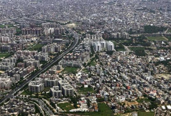 New Delhi on the verge of collapse.In a few years the population will reach 37 million