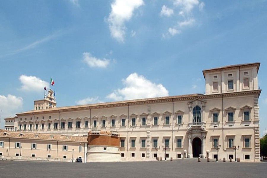 Expo 2015: Ends January 15 2014. The 'Italian Pavilion' Preview Show at the Quirinale