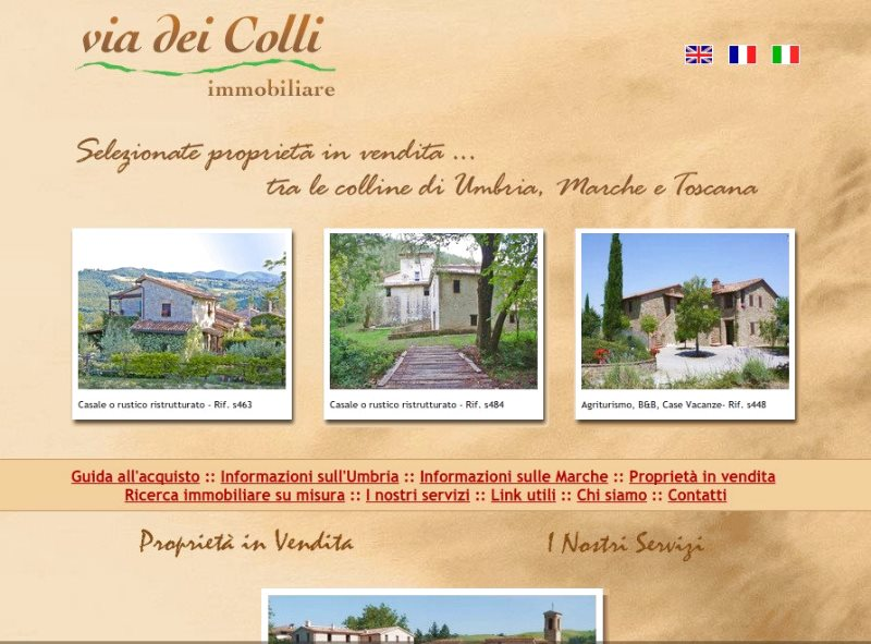The partnership between the Via dei Colli real estate agency and the Great Estate Group