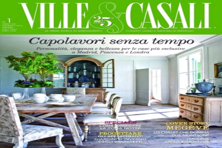 """Ville  & Casali"" an interview with Stefano Petri.Focus on Cetona"
