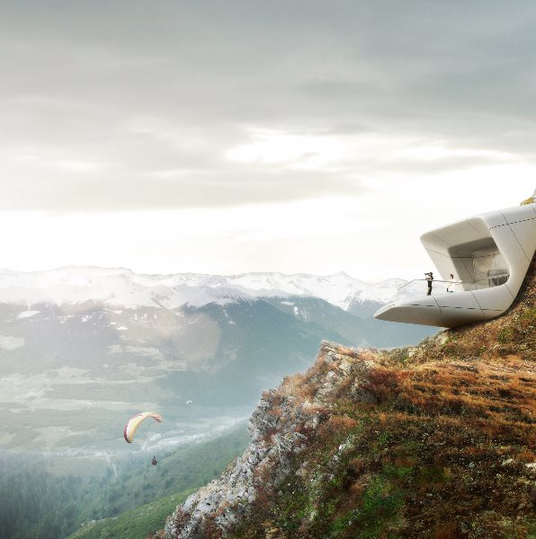 Zaha Hadid Architect Involved in the New Messner Museum – Carved into the Earth