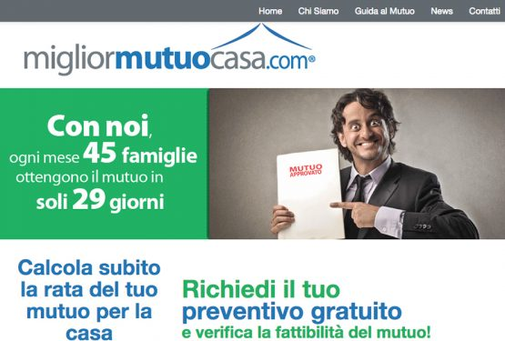 Efisio Borrelli and MigliorMutuoCasa.com: the choosing of your loan has never been so easy