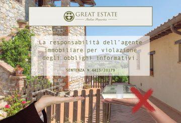 Protetto: La responsabilità dell'agente immobiliare per violazione degli obblighi informativi: quando non è dovuta la provvigione secondo la Cassazione, sentenza n.4415/2017