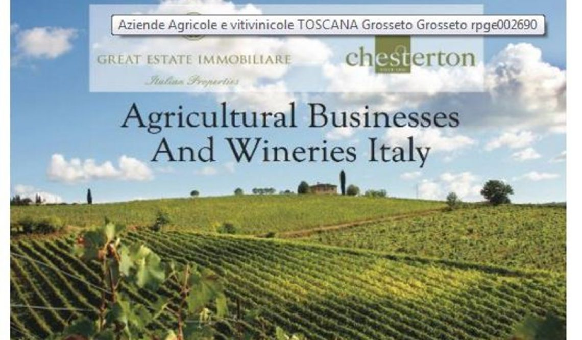 The Russians buying wineries in Tuscany with great marketing and pr in this specific market.
