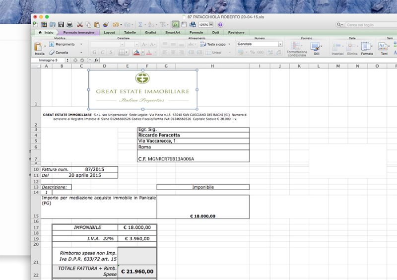 THE ADVANCE INVOICE: WHEN CAN I SUBMIT THEM?