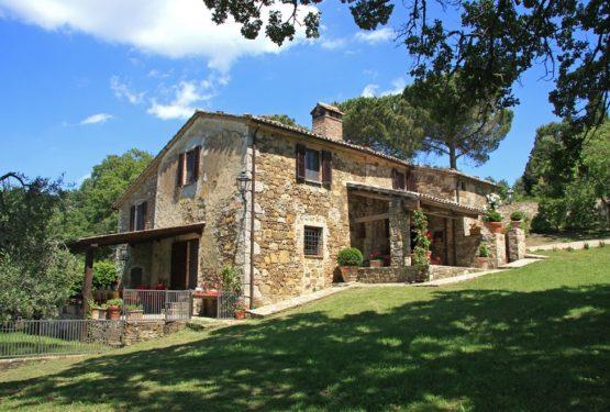 Отремонтированный дом в Тоскане