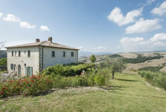 A farmhouse ,San Casciano dei Bagni .A renovation project of a farmhouse by the Architect Einaudi