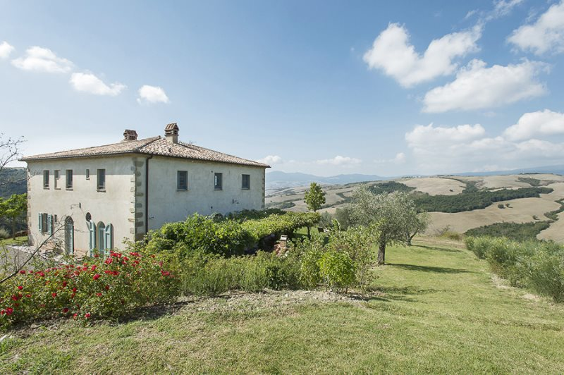 A farmhouse ,San Casciano dei Bagni .A renovation project of a farmhouse by the Architect Einaudi