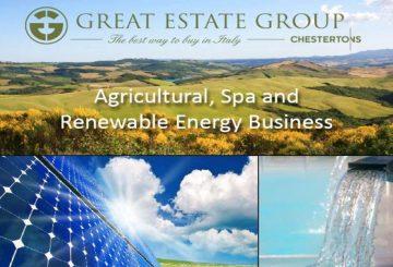 A farm-organic estate of constant income