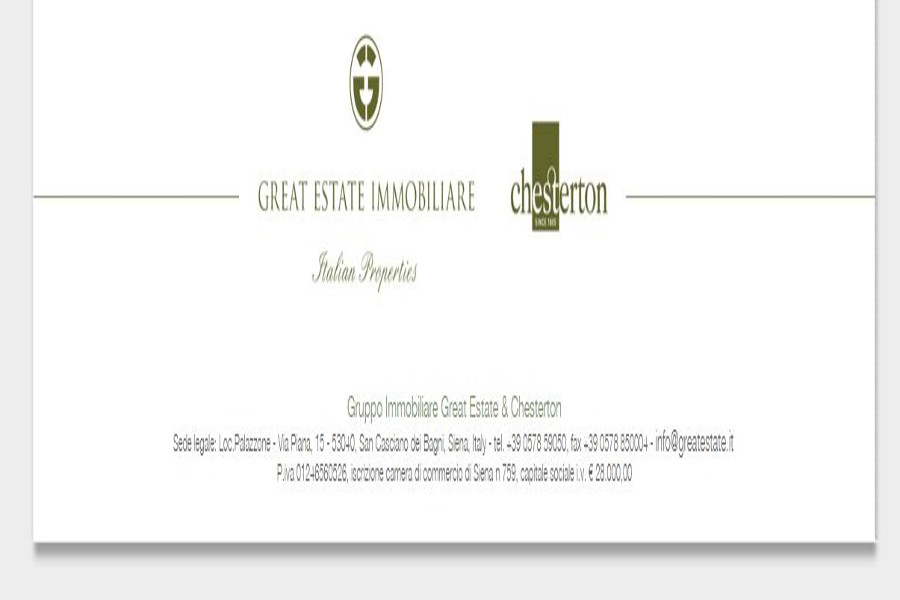 Great Estate is always espanding and developing better Service- from the Centre to the North of Italy