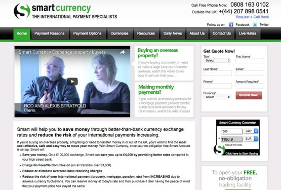 Smart Currency Exchange, Financial London-based Company Signs an Important Agreement with Great Estate