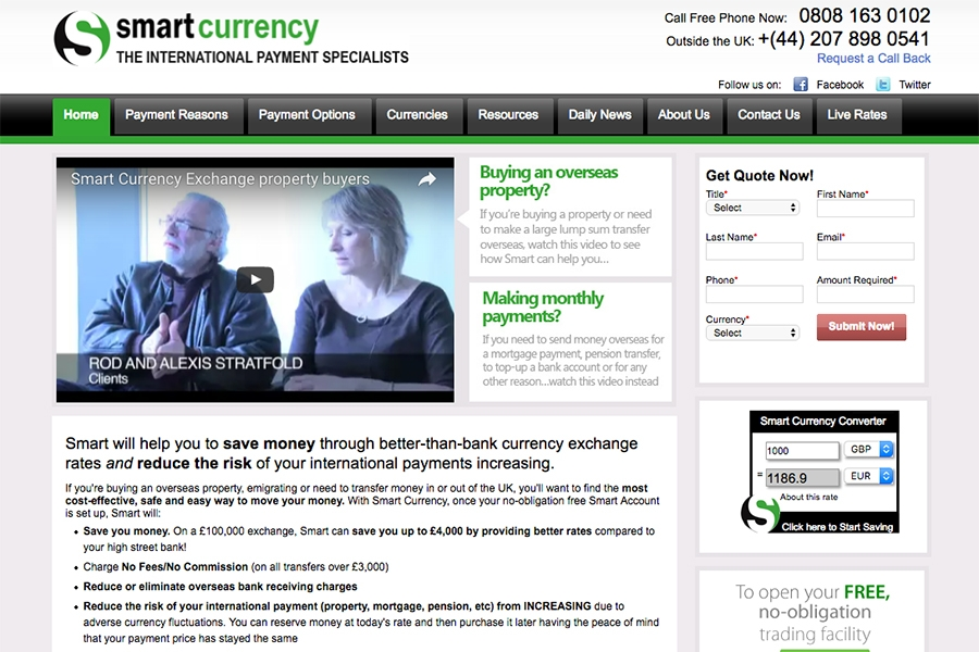 Smart Currency Exchange, financial London-based company, signs an important agreement with Great Estate