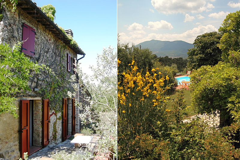 Splendid Country House in Tuscany Recently Sold with Great Estate