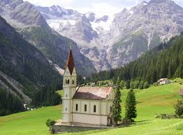 A typical landscape of Trentino Alto- Adige