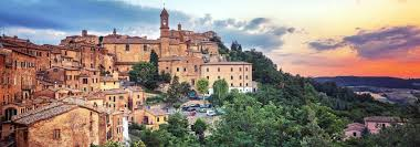 A photo of the splendid town of Montepulciano