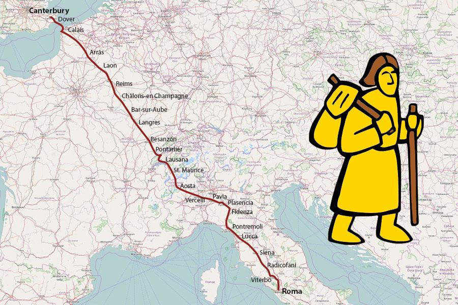 Alla scoperta della Via Francigena italiana: la candidatura al Patrimonio Unesco