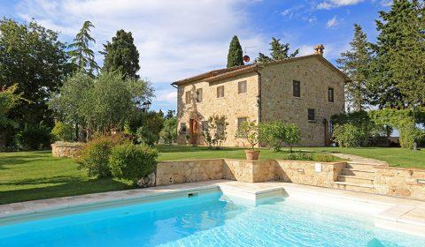 """Un' immagine di """" Casale Delle Rose """", Cetona, Siena, Toscana, proposto in vendita da Great Estate"""