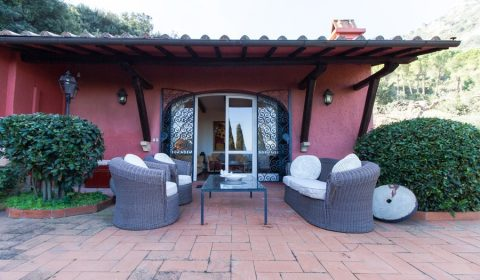 "Prestigious villa with sea view for sale in Monte Argentario, within the famous five-star relais ""Hotel Il Pellicano"" – Monte argentario, Grosseto, Toscana - Ref. 3372 -Cod: mpge3481 – Price: € 3.300.000"