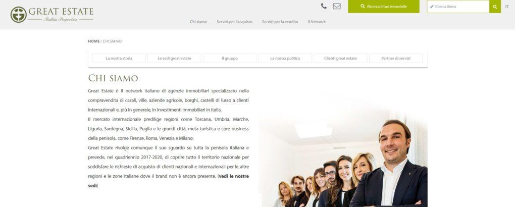 Piani Marketing, Great Estate, visibilità, diffusione pubblicitaria