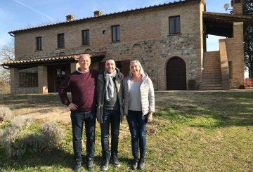 """Mr. Gustafsson and Mrs. Svantesson: this is our """"Poggio Fiorito"""""""