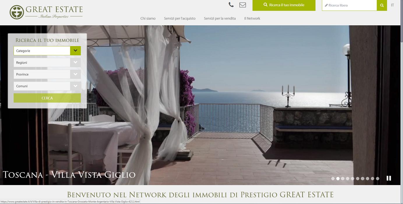 francesco cigna, intervista, sito, great estate