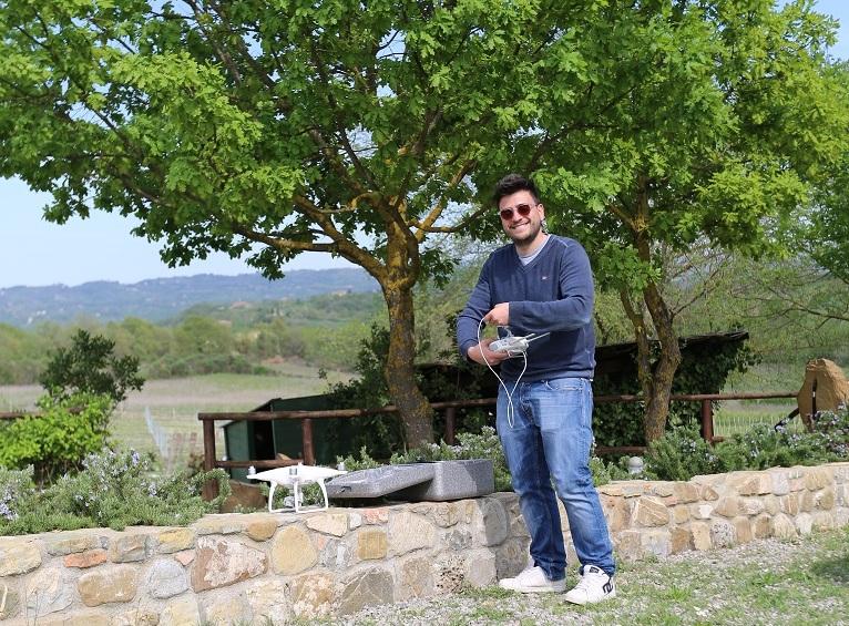 Great Estate always choosing cutting-edge technology: the new DJI PHANTOM 4 drone