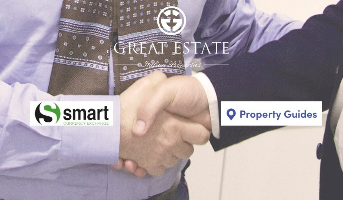 Great Estate e Smart Currency Exchange-Property Guides: una virtuosa  collaborazione