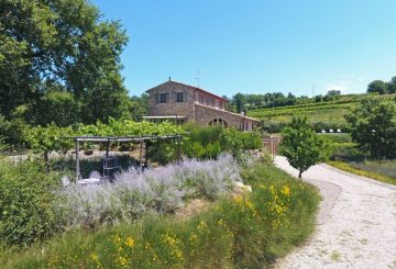 """La Quercia Illuminata"" farmhouse: an extraordinary record time sale signed Great Estate"