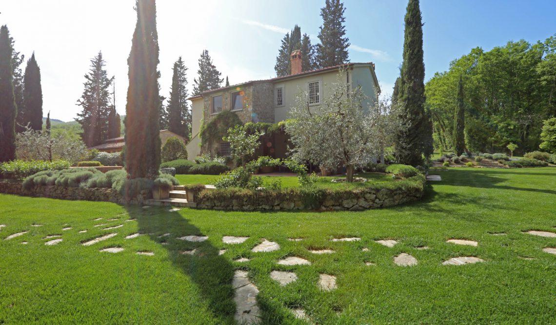 "January 2019: Great Estate sells the amazing ""Villa Brencia"", Tuscany"