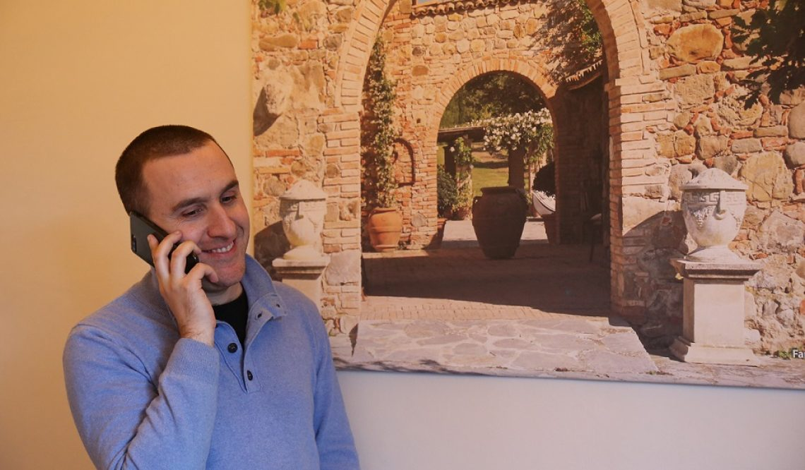 "My experience with the international clients of ""Villa Brencia"": our consultant Roberto Biggera"