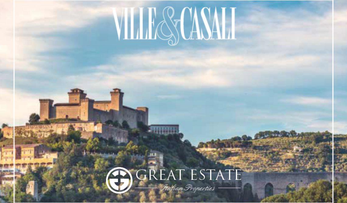 L'Umbria e il suo fascino protagonisti su Ville&Casali