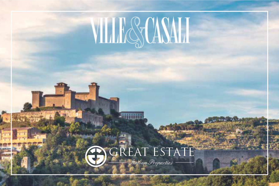 Umbria and its charm are the protagonists of Ville&Casali March Issue
