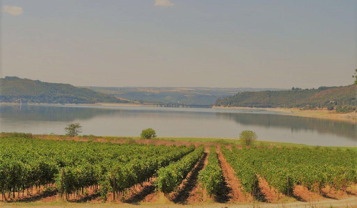 Corbara Lake in Umbria: nature, landscape and… A beautiful G.E. farmhouse