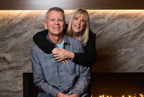 """Eileen e Bill Senke: l'immenso amore per l'Italia e per il nostro nuovo """"White Apartment"""""""
