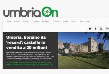 Le prestigiose proprietà in Umbria di Great Estate su UmbriaOn