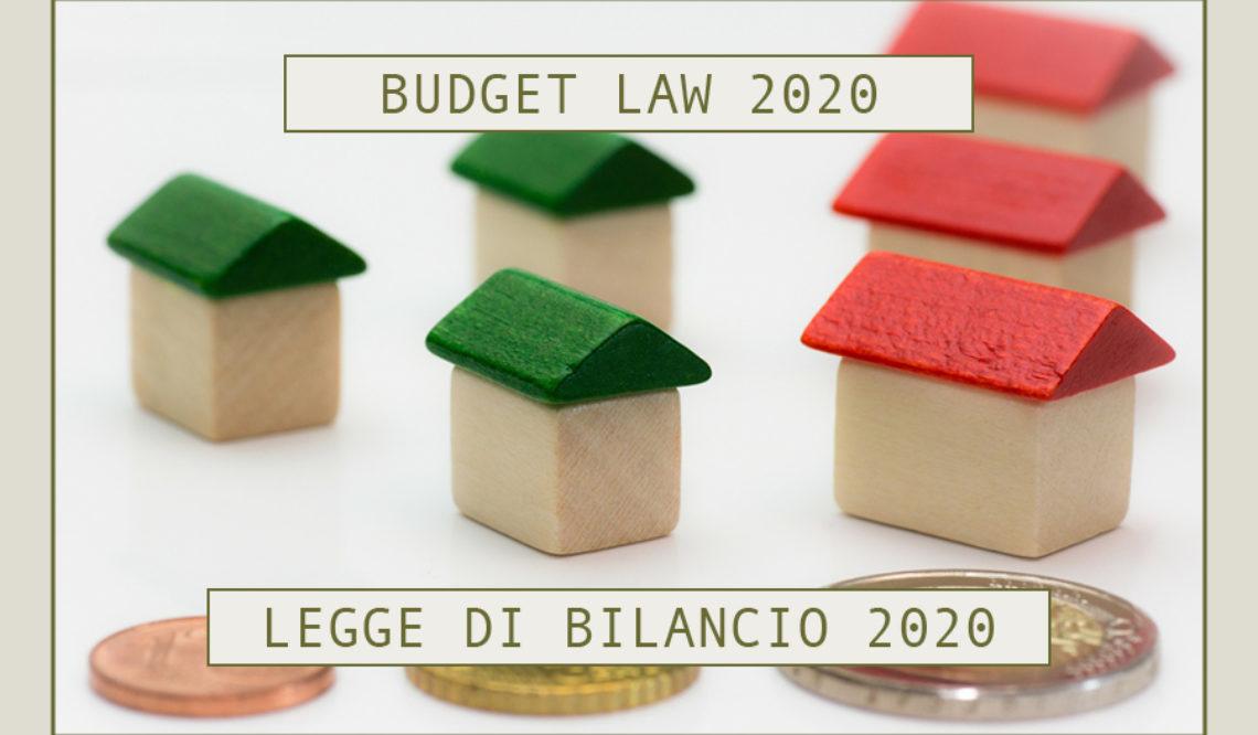 Legge di bilancio 2020: scopri conferme e novità in materia edilizia