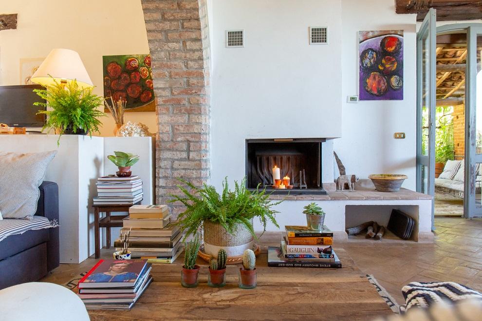artist's house, casale, panicale, lago trasimeno, umbria