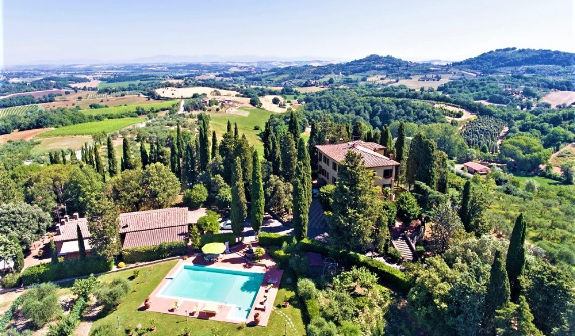 """Il Peraio"": your luxury villa in the Southern Tuscany countryside"