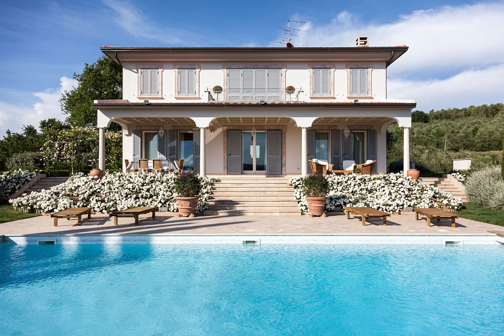 la dimora delle rose inglesi, villa, monteleone d'orvieto, umbria