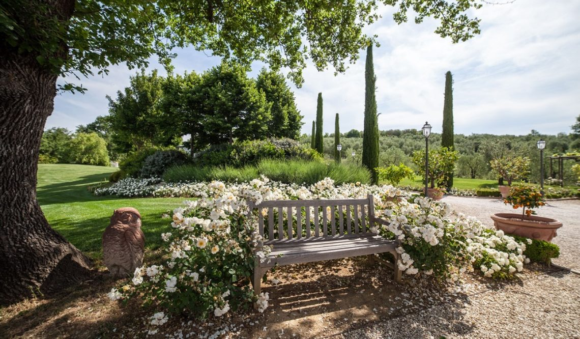 La Dimora Delle Rose Inglesi: an oasis of perfumes, magic, and elegance