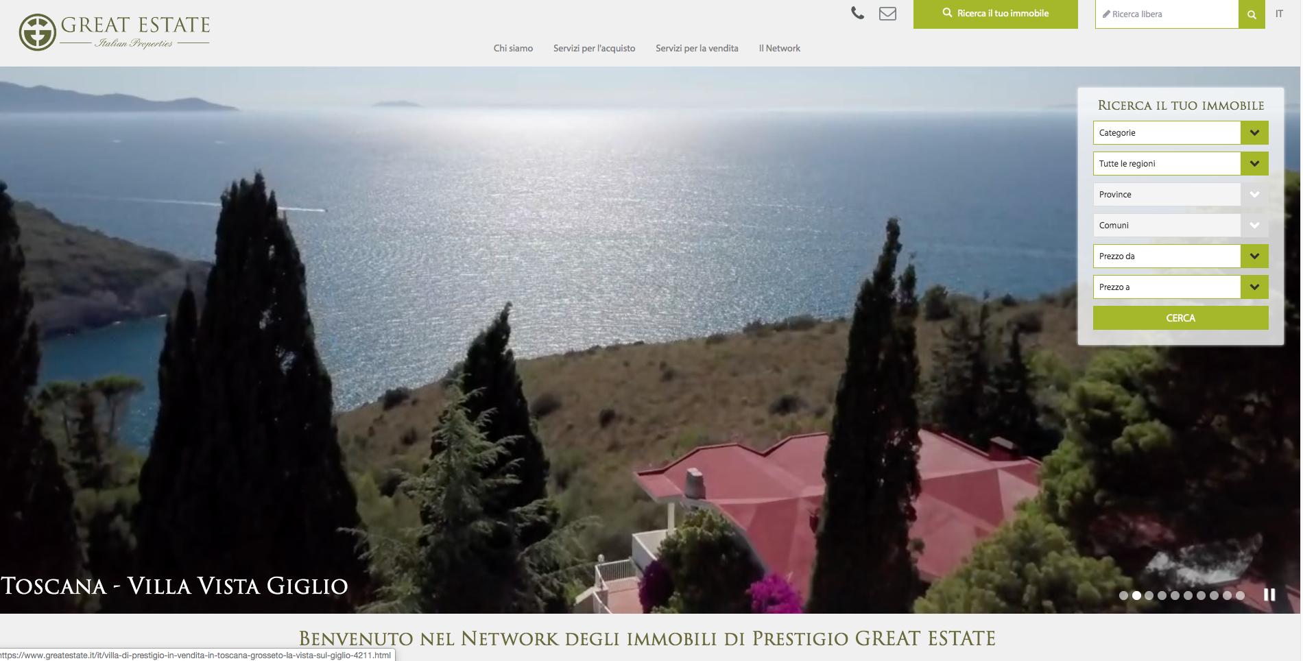 Protetto: Attività svolte sul sito www.greatestate.it e nuove zone per indicizzazione