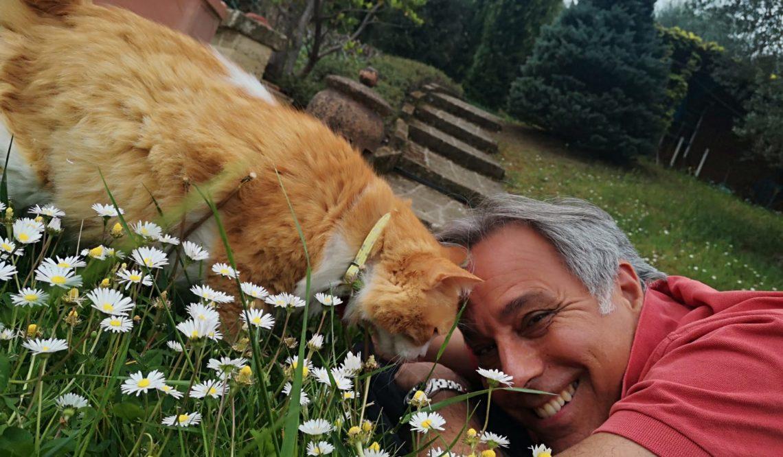 Umberto Masci: ho riscoperto la felicità di vivere in campagna, all'aria aperta