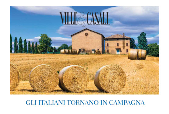 Ville&Casali intervista il CEO di Great Estate: gli italiani tornano in campagna